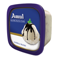 Amul ice cream -Vanila magic (1 ltr Tub)